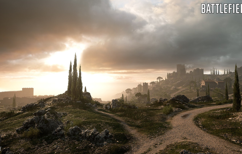 hills, fortress, Battlefield 1