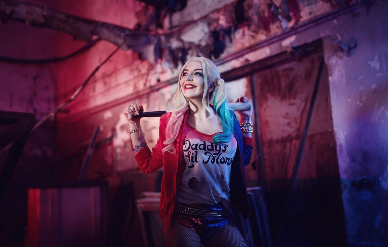 Photo wallpaper cosplay, Harley Quinn, DC Comics, Harley Quinn, Suicide Squad, Suicide Squad, Robbie Margot, Margot Robbie, …