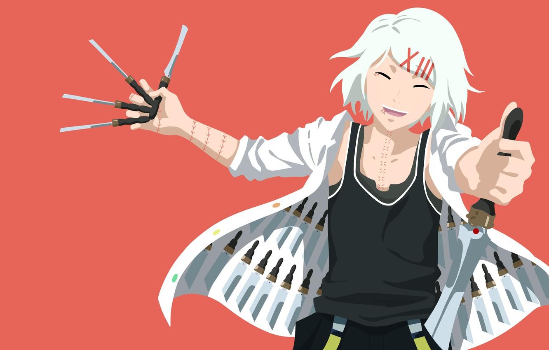 Photo wallpaper anime, blade, assassin, manga, japanese, Tokyo Ghoul, by cheezynoodlez, Juuzou