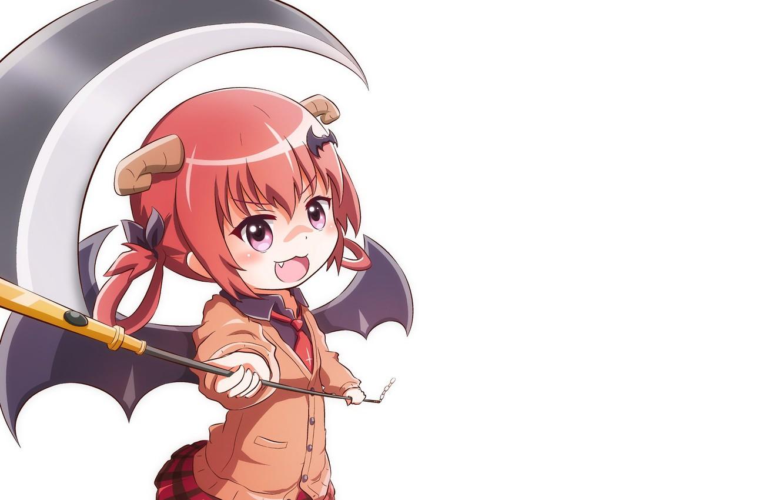 anime girl redhead