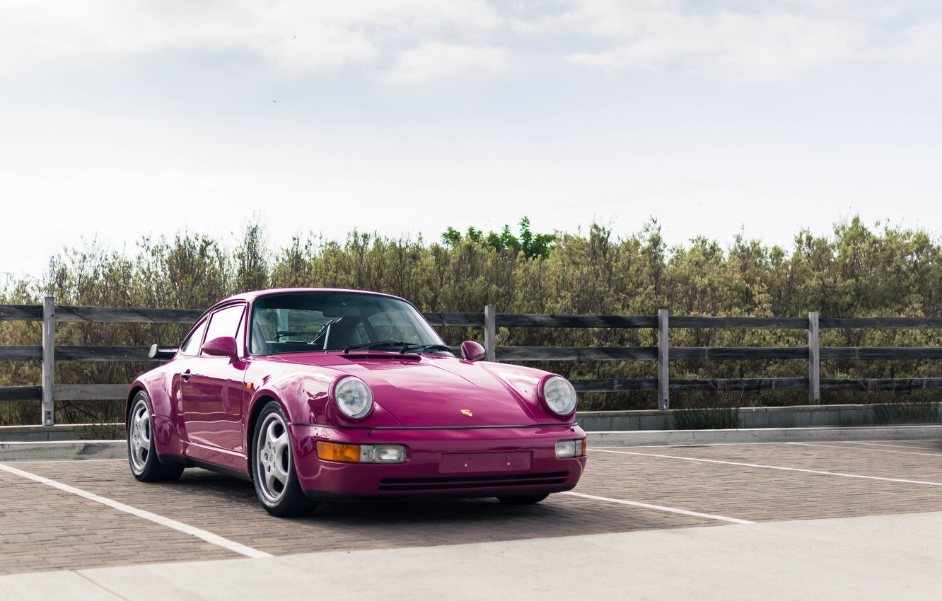 Photo wallpaper 911, Porsche, turbo, 964