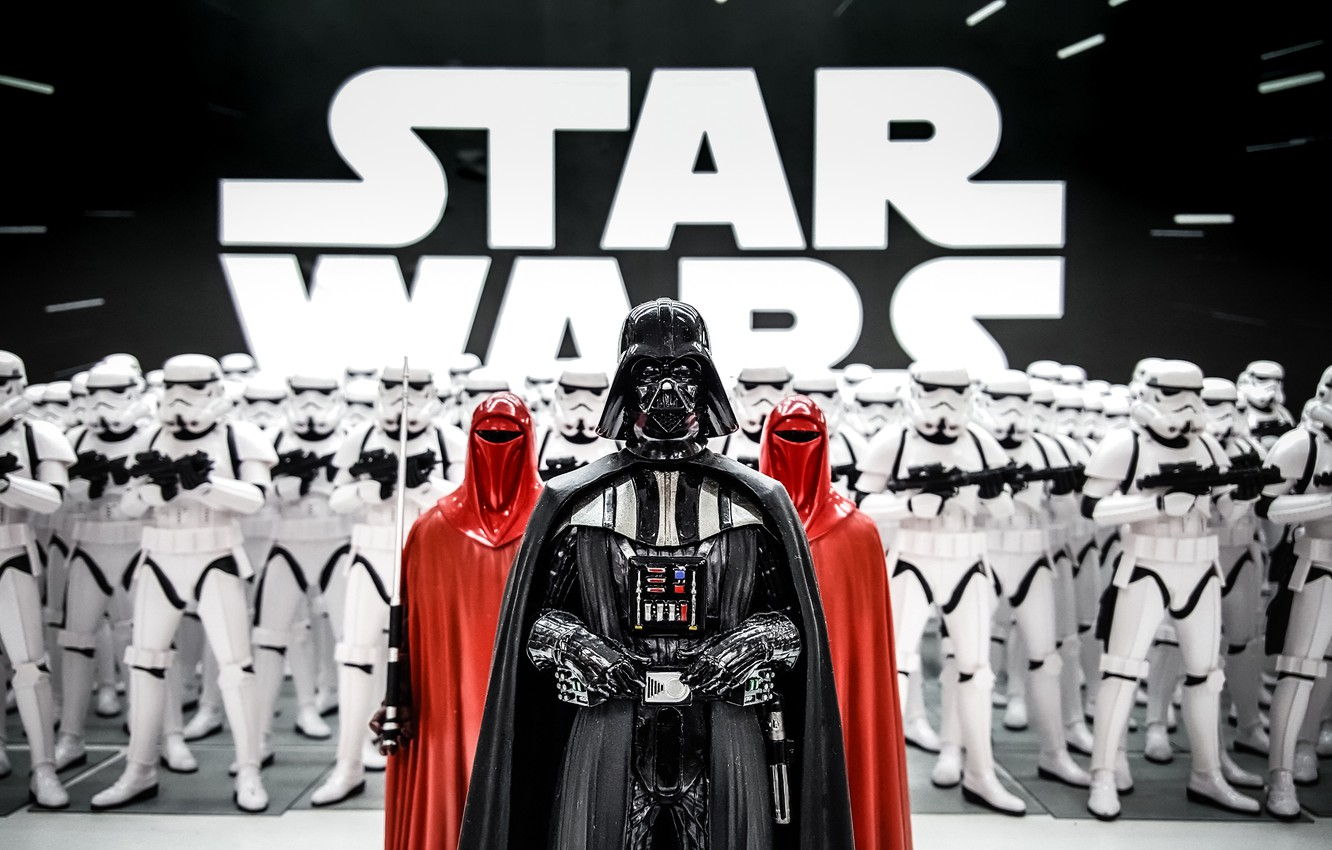 Photo wallpaper Darth Vader, Star wars, Stormtrooper