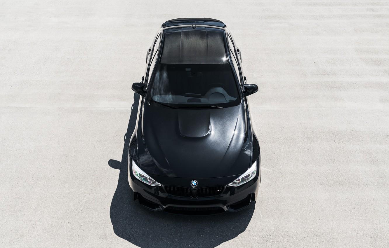 Photo wallpaper BMW, Black, Roof, F83