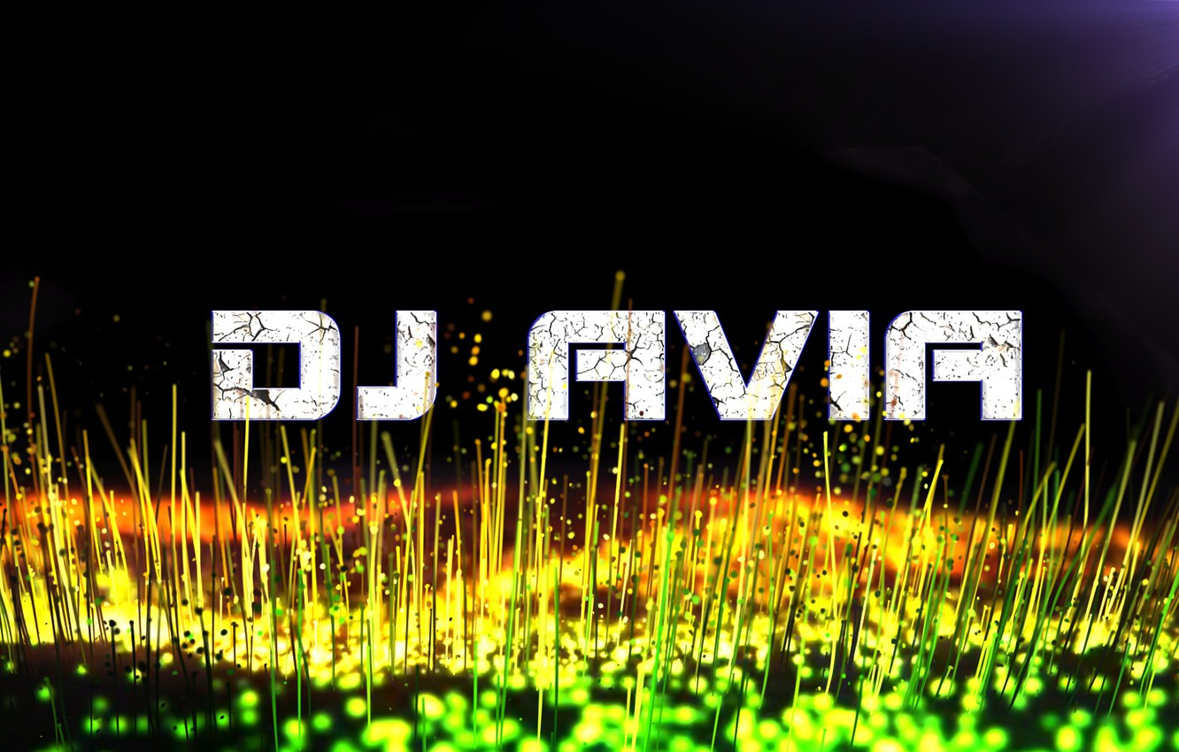 Photo wallpaper Music, Cover, DJ, Particle