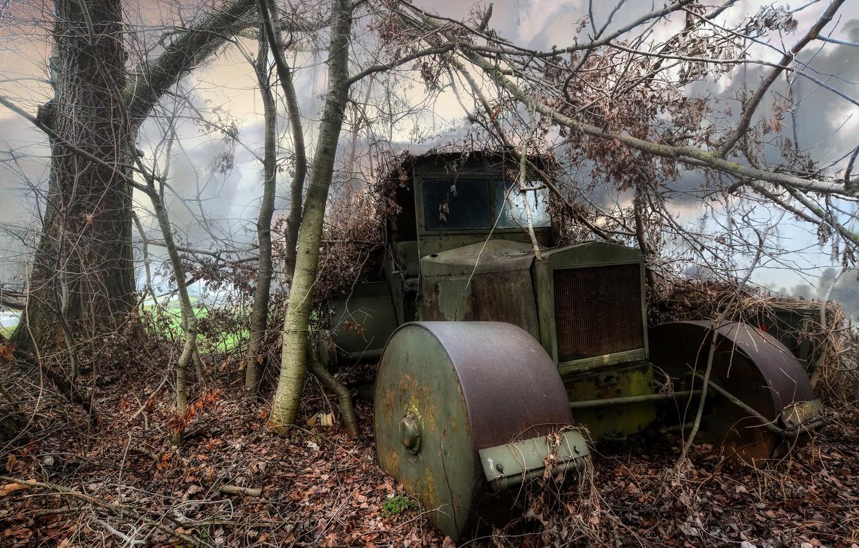 Photo wallpaper machine, background, scrap