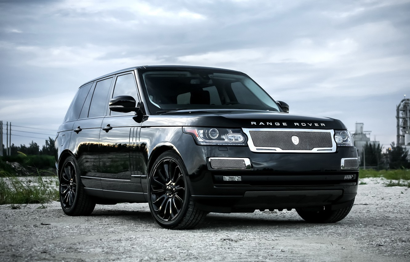Photo wallpaper Range Rover, with, color, Supercharged, exterior, trim, matched