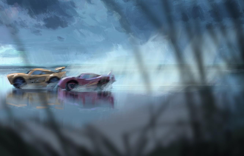 Wallpaper Car Cinema Disney Cars Race Speed Movie Film