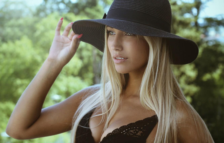 Wallpaper Girl Model Blonde Hat John Bi John Bee Images