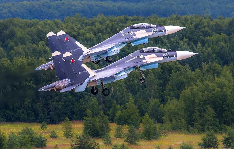 Photo wallpaper fighter, multipurpose, Su-30CM, Su-30 SM