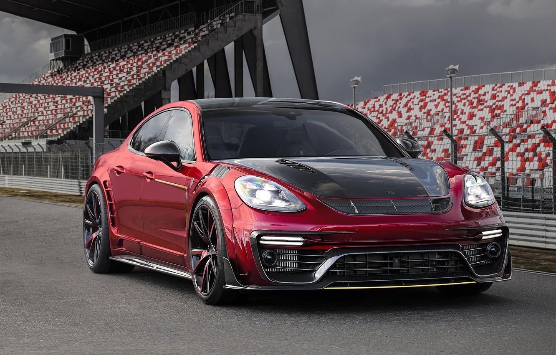 Photo wallpaper Porsche, Panamera, Porsche, Panamera, Mansory