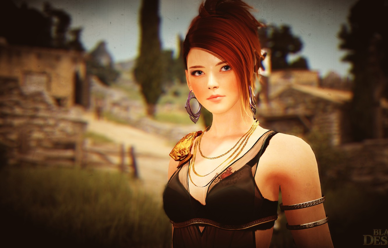Photo wallpaper Fury, Mystic, Black desert
