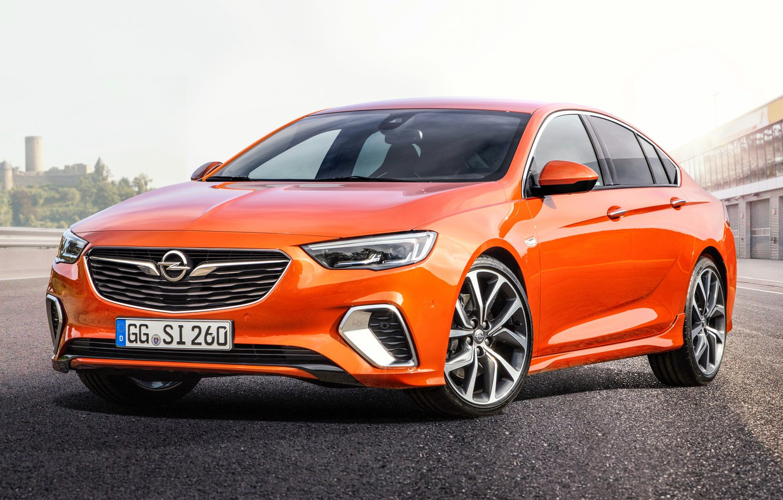 Photo wallpaper Insignia, Opel, sedan, front view, 2018, GSI