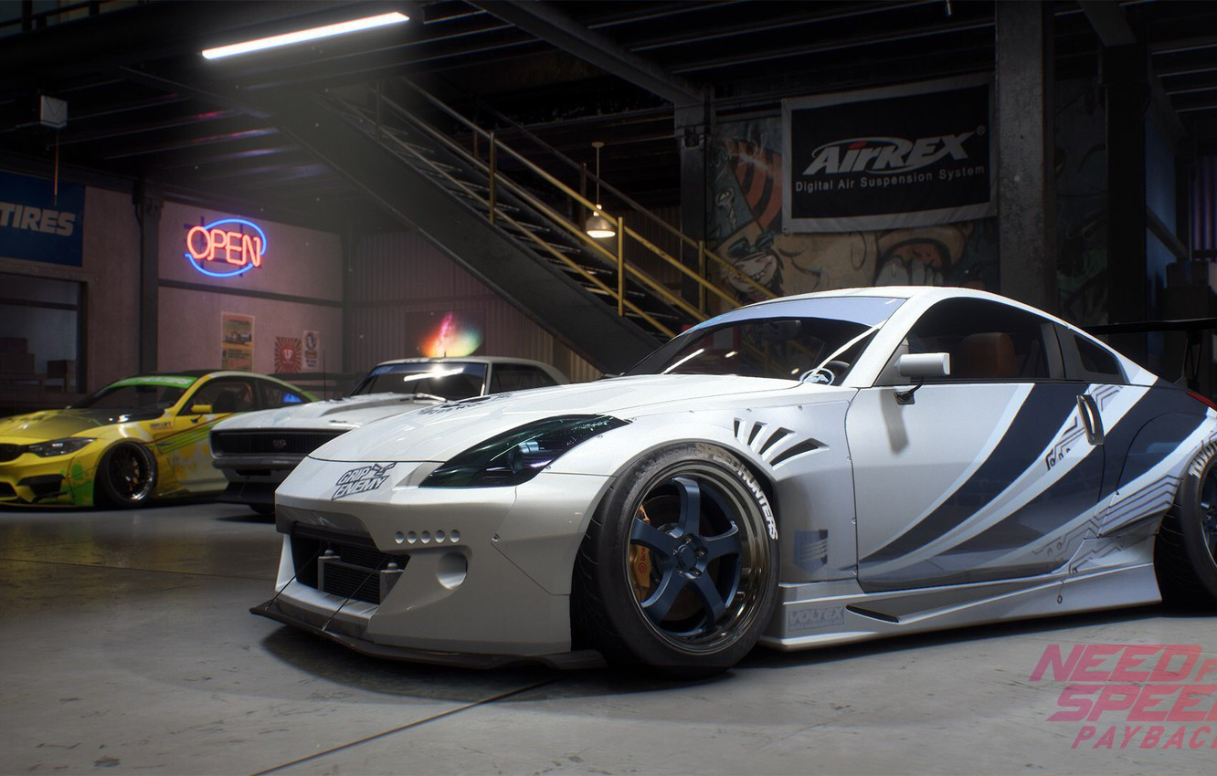Nissan 350Z 2017 >> Wallpaper Nissan 350z Nfs Electronic Arts Need For Speed