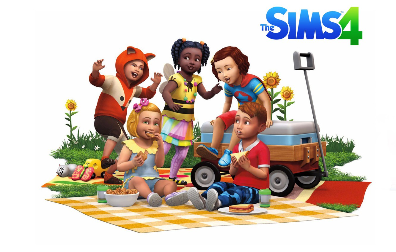 Wallpaper Baby Game Sims Sims 4 Toddler Images For