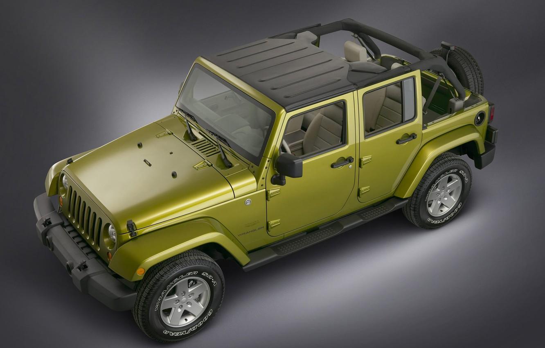 Photo wallpaper SUV, Wrangler, Jeep