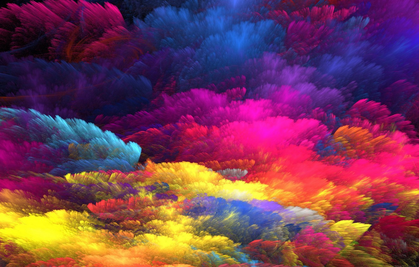 Photo wallpaper background, paint, colors, colorful, abstract, rainbow, background, splash, painting, bright