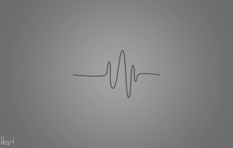 serdtse serdtsebienie seryi liniia heart