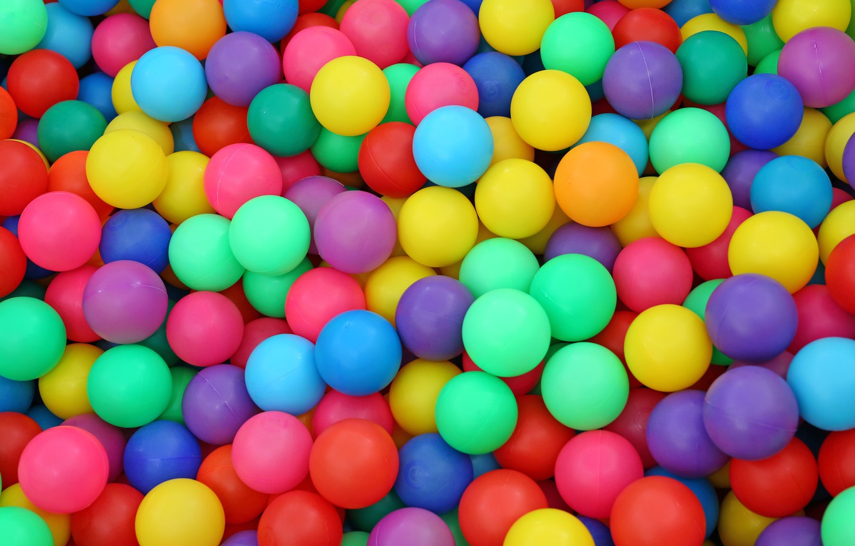 Photo wallpaper balls, background, balls, bright, colored, colors, colorful, rainbow, balls, background