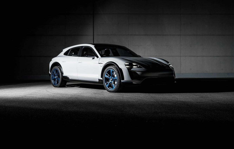 Photo wallpaper Concept, Porsche, the concept, Porsche, Mission E