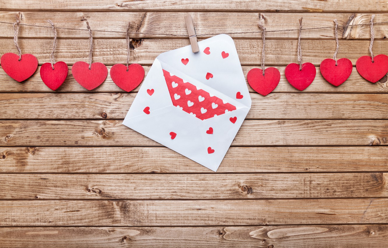 Photo wallpaper love, romance, heart, hearts, love, heart, wood, romantic, Valentine's Day, Valentines