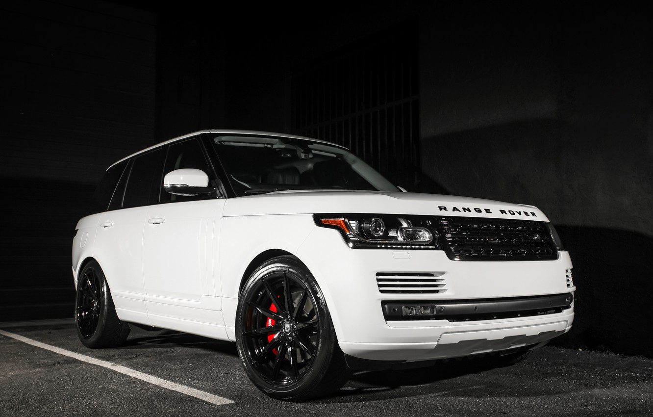 Photo wallpaper Range Rover, with, color, exterior, trim, matched