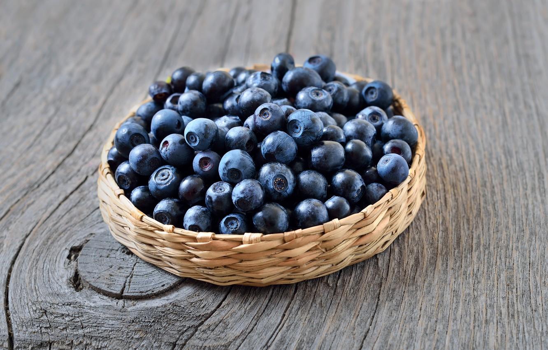 Photo wallpaper berries, blueberries, fresh, blueberry, blueberries, berries