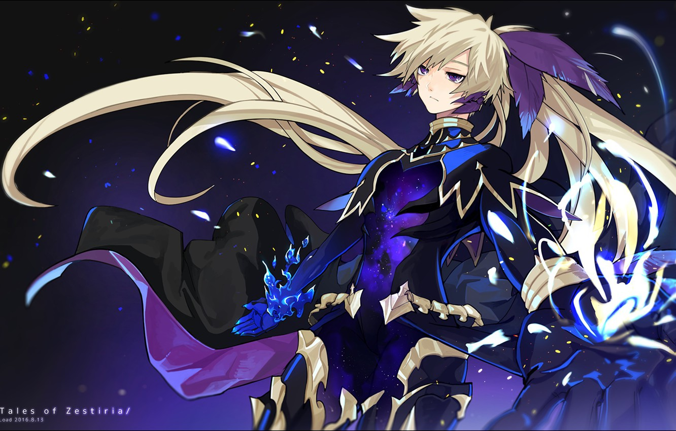 Wallpaper Anime Feathers Art Guy Tales Of Zestiria