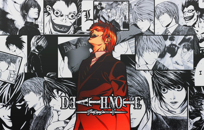 Wallpaper Death Note, anime, manga, Yagami Light images for desktop, section прочее - download