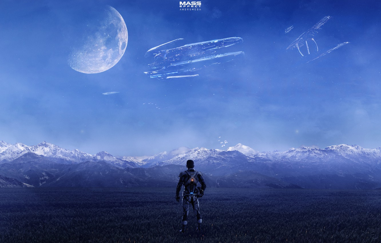 Wallpaper People Planet The Suit Mass Effect Bioware