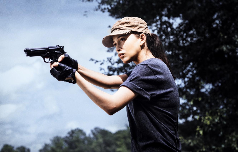 Photo wallpaper The Walking Dead, Rosita, Season 8
