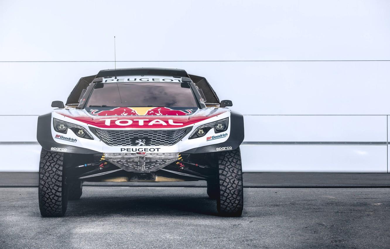 Photo wallpaper Sport, Peugeot, Rally, Rally, DKR, 3008, Silk Way, Peugeot 3008 DKR