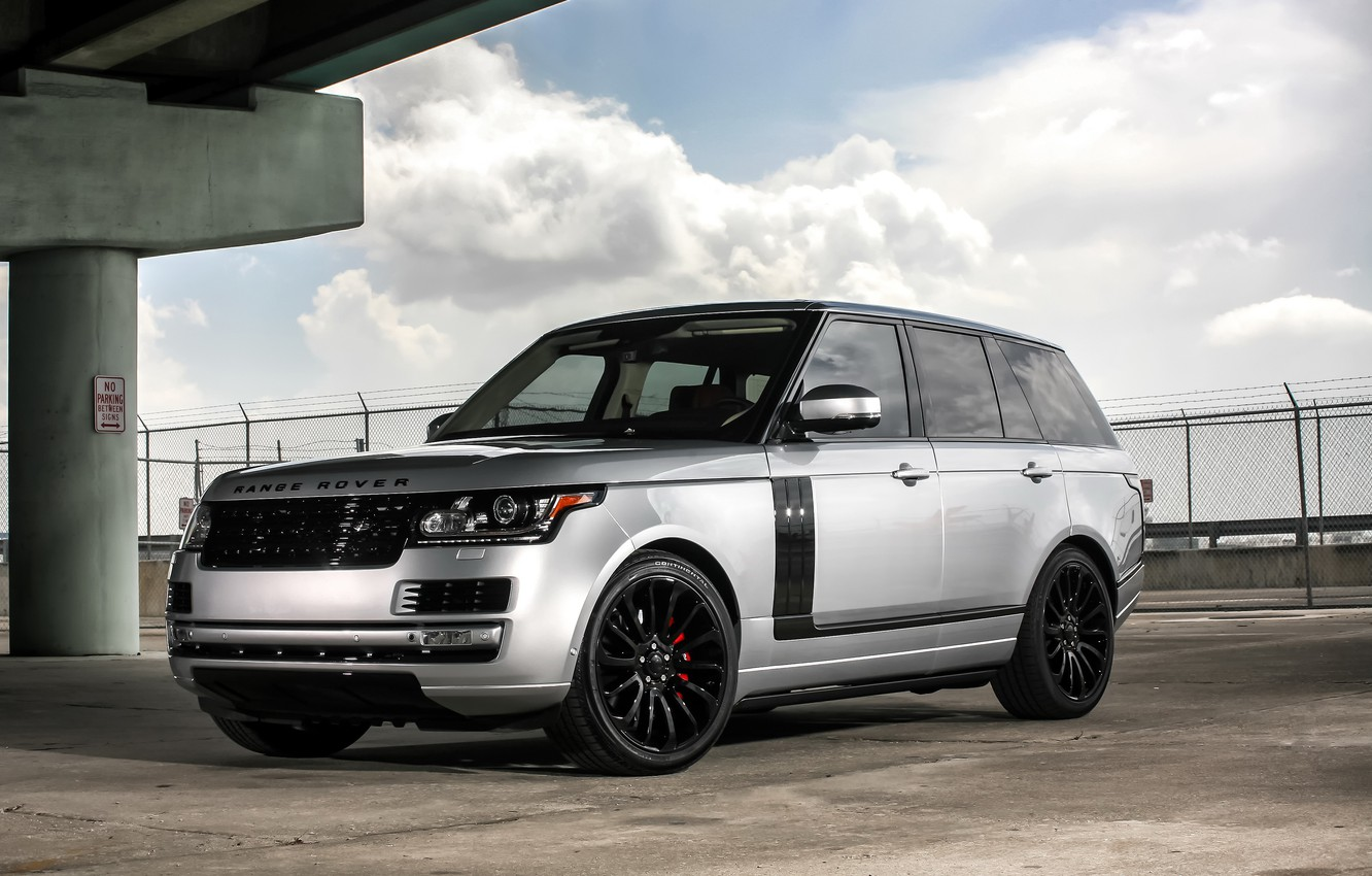 Photo wallpaper Range Rover, with, color, Autobiography, exterior, trim, matched