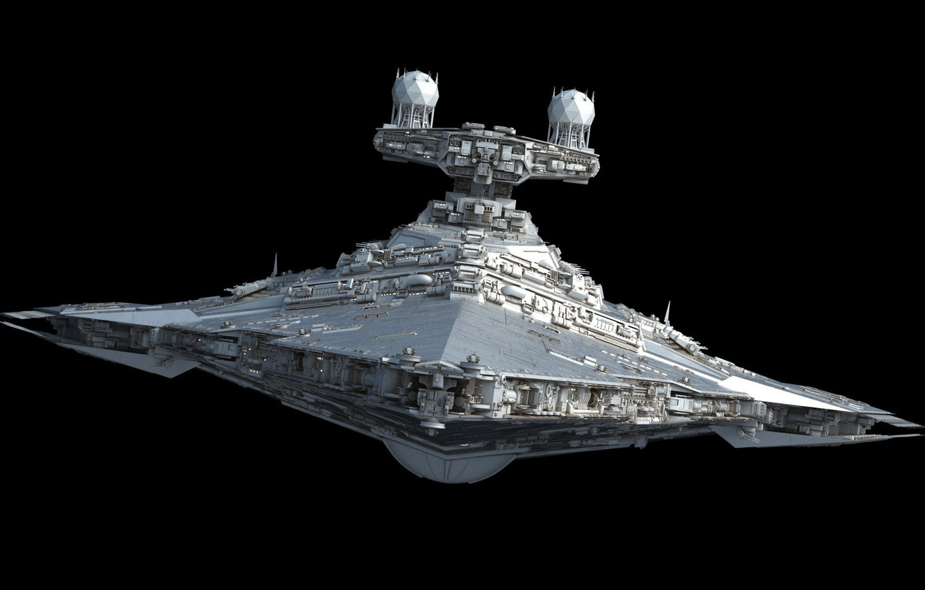 Wallpaper Space Star Wars Ship Images For Desktop Section Minimalizm Download