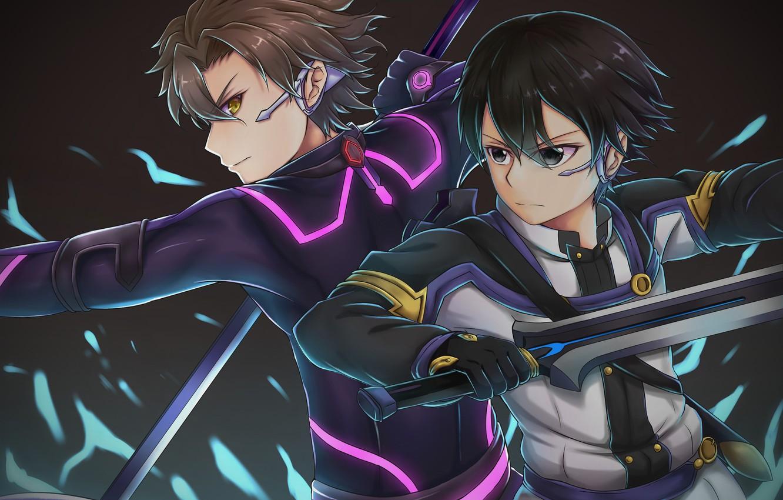Photo Wallpaper Sword Game Weapon Anime Ken Blade Asian