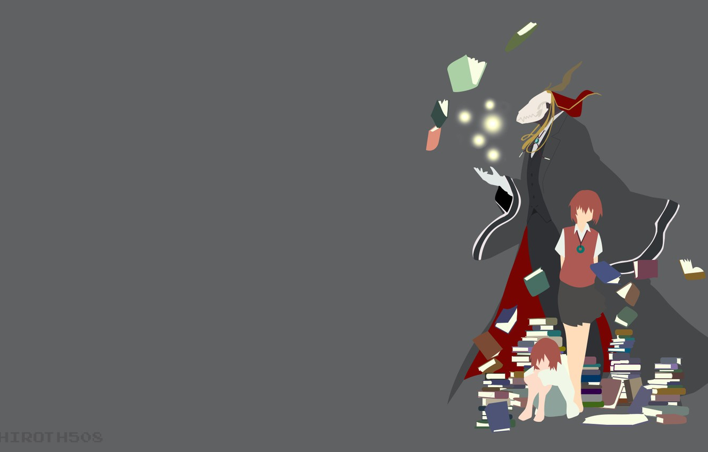Wallpaper Anime Witch Light Novel Mahou Japonese 006 Madoshi