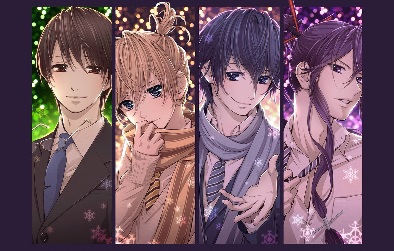 Photo wallpaper collage, anime, art, guys, Vocaloid, Vocaloid, characters