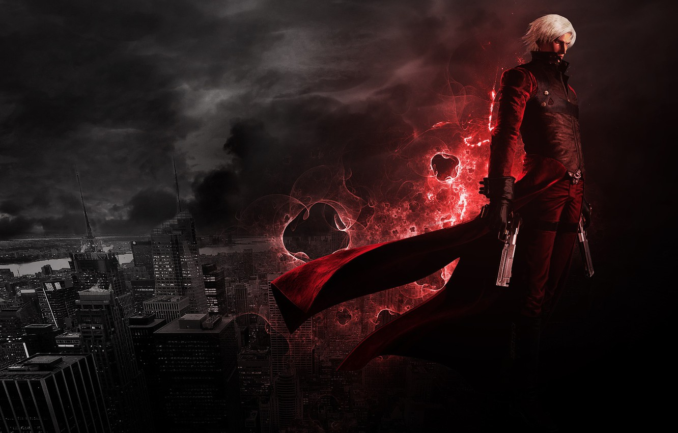Dmc Devil May Cry 5 Hd Hd Wallpapers Backgrounds Download