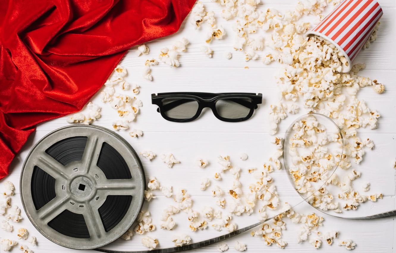 Photo wallpaper movie, glasses, film