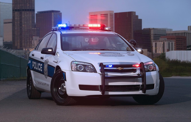 Photo wallpaper auto, the city, police, Chevrolet, Police, Patrol, Caprise