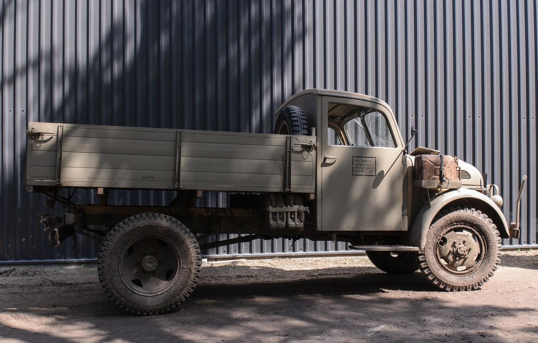 Photo wallpaper easy, car, military, Steyr, 1500 A