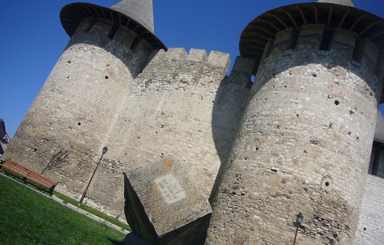 Photo wallpaper Moldova, Moldova, Forty, The Fortress Of Soroca, Soroca fortress, soroca