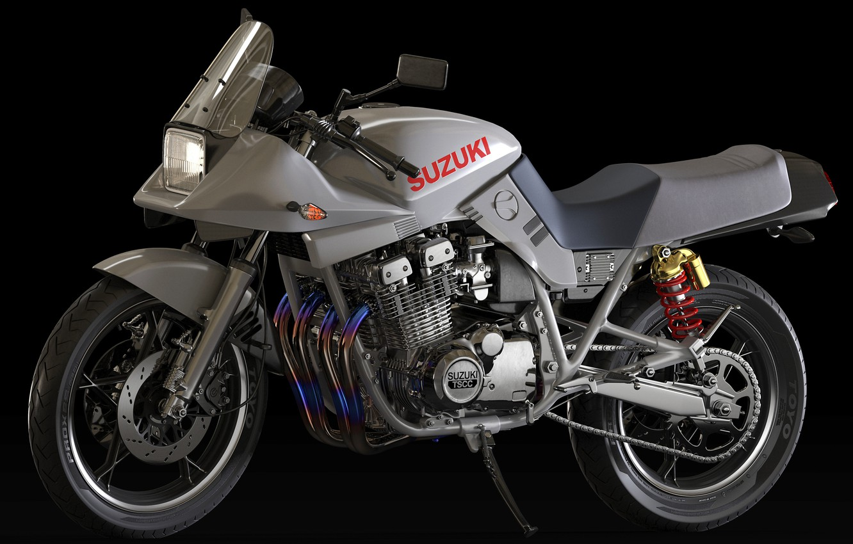Photo wallpaper style, motorcycle, Suzuki