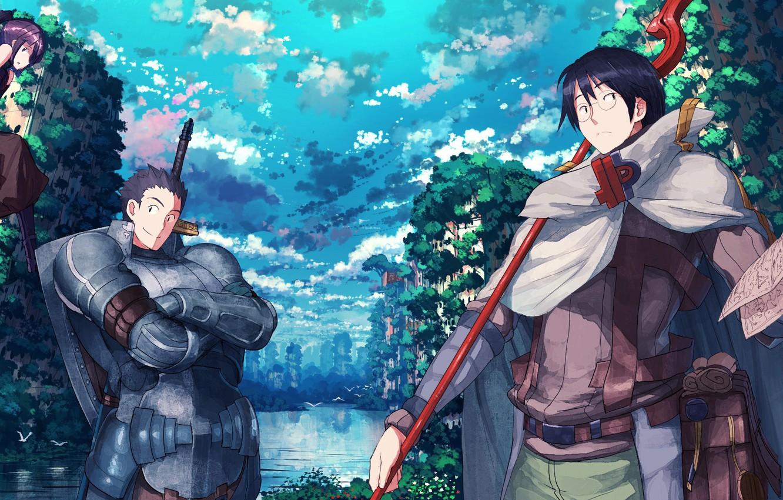 Photo Wallpaper Game Anime Asian Manga Japanese Rpg Oriental