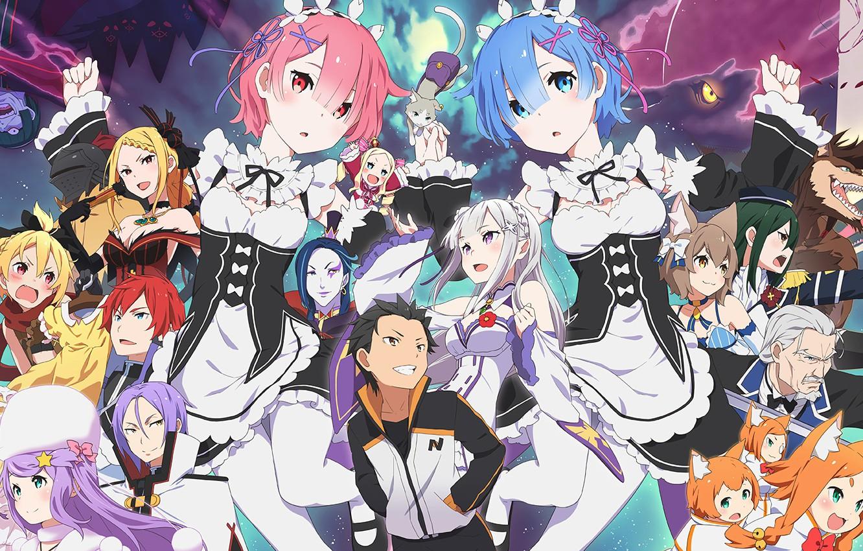 Wallpaper Re Zero Kara Hajime Chip Isek Or Seikatsu Characters