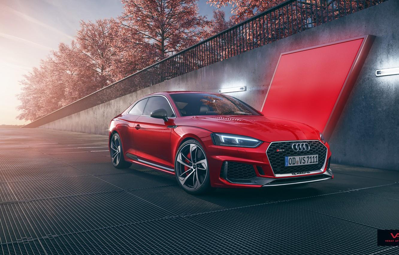 Photo wallpaper Audi, RS5, Coupe, CGI, Vedat Afuzi Design