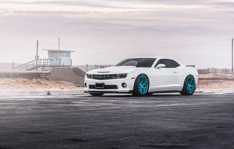 Photo wallpaper Chevrolet, Camaro, Wheels, MRR