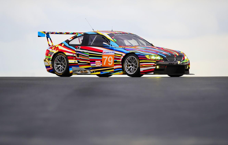 Photo wallpaper Color, Auto, Vinyl, BMW, Sport, Machine, BMW, Color, Art, GT2, E92, BMW M3, BMW E92, …