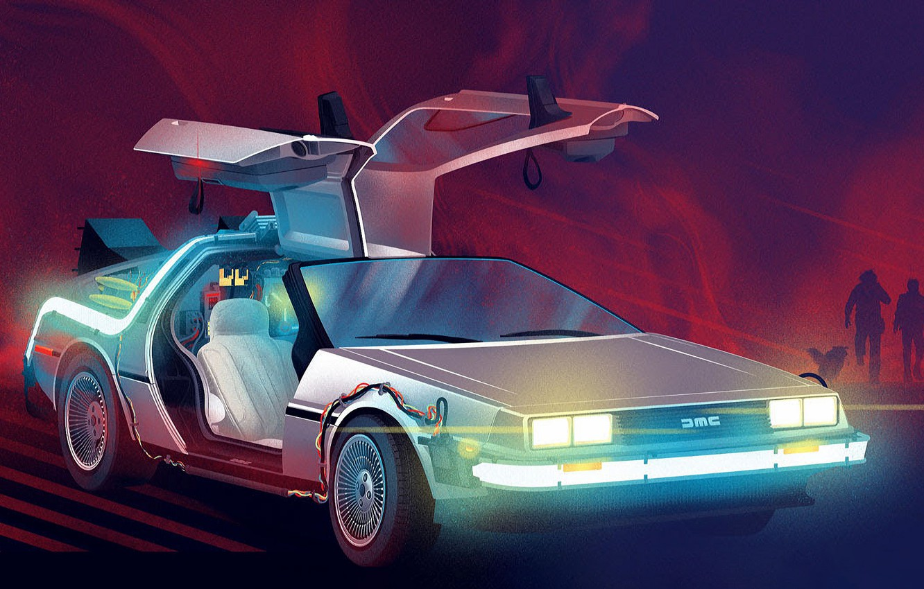 Wallpaper Figure, Machine, DeLorean DMC-12, DeLorean, DMC-12