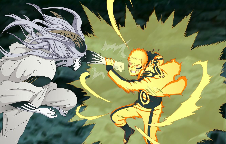 Photo wallpaper battlefield, game, Naruto, war, anime, man, ninja, asian, manga, shinobi, japanese, god, Uzumaki Naruto, oriental, …