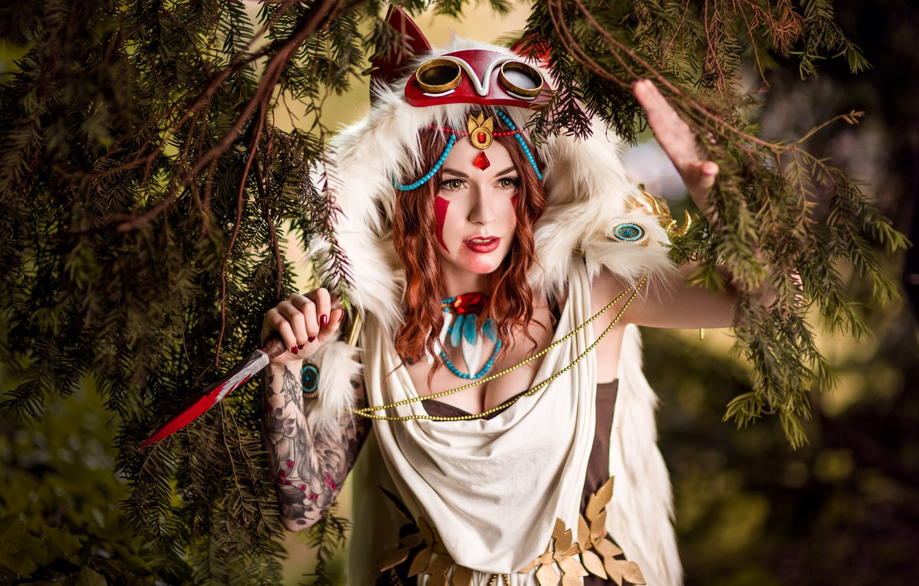 Photo wallpaper girl, outfit, cosplay, cosplay